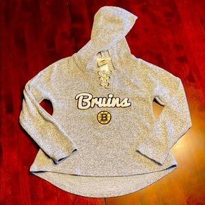 NHL Boston Bruins Girls Stylish Hoodie, NWOT